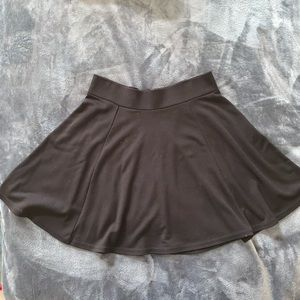 H&M Black Mini Skater Skirt